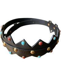 Maje Leather Belt - Multicolor
