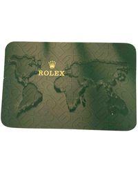 Rolex Uhren - Grün