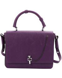 Carven Leder Handtaschen - Lila