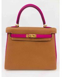 Hermès Kelly 25 Leder Handtaschen - Mehrfarbig