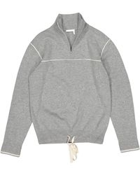Chloé Grey Cashmere Knitwear