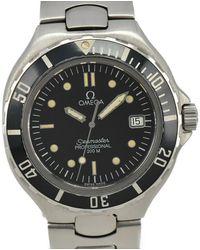Omega Seamaster Watch - Black