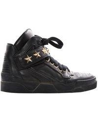 Givenchy Baskets \N en Cuir Noir