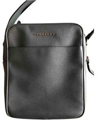Burberry Leather Bag - Black