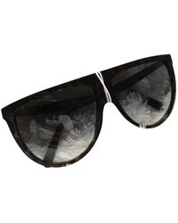 Celine Shadow Aviator Sunglasses - Brown