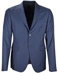 Marni - Blue Wool Jacket - Lyst