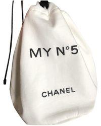 Chanel Vanity Case - White