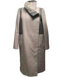 Helmut Lang - Wool Coat - Lyst