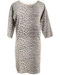 Lanvin Multicolour Wool Knitwear - Gray