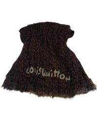 Louis Vuitton - Pre-owned Cashmere Stole - Lyst