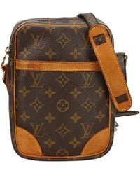 Louis Vuitton - Pre-owned Danube Cloth Handbag - Lyst