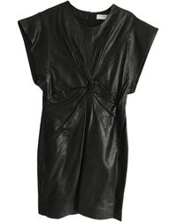IRO Ss19 Leather Mini Dress - Black