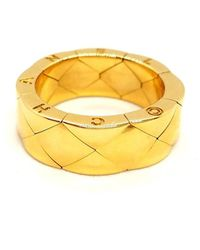 Chanel Matelassé Gold Yellow Gold Ring - Metallic