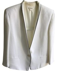 Helmut Lang - White Synthetic Jacket - Lyst