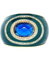 Roberto Cavalli - Green Metal Bracelets - Lyst