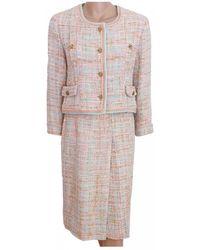 Chanel Tweed Suit Jacket - Multicolour
