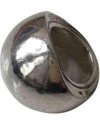 Hermès Anello in argento argentato - Multicolore