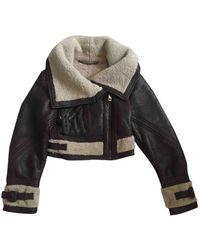 Burberry Short Vest - Brown