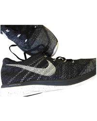 Nike Flyknit Racer Cloth Low Sneakers - Multicolor