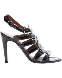 Pre-owned - Patent leather sandals Bottega Veneta APBlwOT