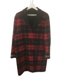 The Kooples Wool Coat - Red