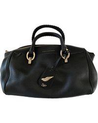 Diane von Furstenberg Leather Handbag - Black