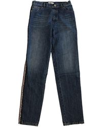 Chanel Straight Jeans - Blue