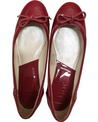 Dior - Patent Leather Ballet Flats - Lyst