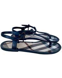 Burberry Flip Flops - Black
