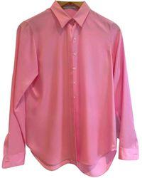 Dior Pink Silk Top