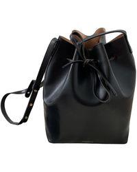 Mansur Gavriel Bucket Leder handtaschen - Schwarz