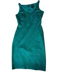 Zac Posen Silk Mid-length Dress - Green