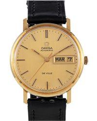 Omega De Ville Gelbgold Uhren - Mettallic