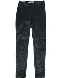 Dior | Pre-owned Leather Slim Pants | Lyst