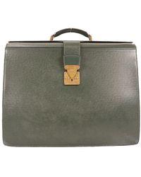 Louis Vuitton - Brown Cloth Bag - Lyst