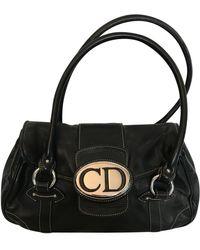 Dior Leder Handtaschen - Schwarz