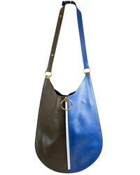 Marni Earring Leder Handtaschen - Blau