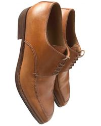 Loewe Leather Lace Ups - Brown