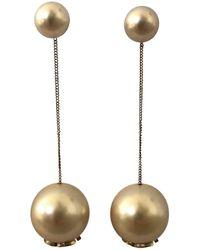 Chanel - Pearl Earrings - Lyst