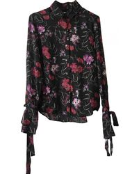 John Galliano Silk Shirt - Black