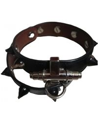 Givenchy Obsedia Leder Armbänder - Schwarz