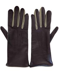 Isabel Marant Leather Gloves - Multicolor