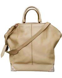 Alexander Wang Emile Leather Crossbody Bag - Natural