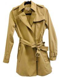 Michael Kors Trench Coat - Natural