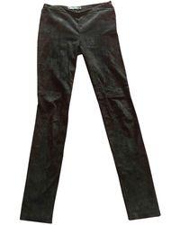 Proenza Schouler Slim Pants - Black