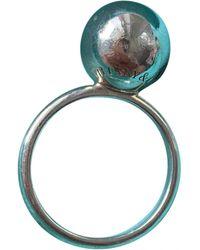 Tiffany & Co. City HardWear Silber Ringe - Blau