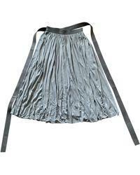 Celine Maxi Skirt - Gray