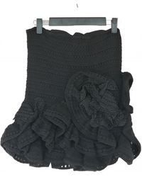 Dior Wool Corset - Black