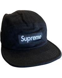 Supreme Wolle Hüte mützen - Schwarz