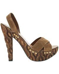 Miu Miu | Pre-owned Heels | Lyst